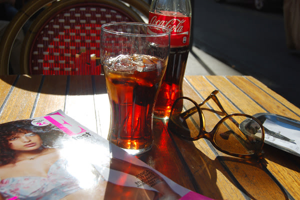 Coca terrasse