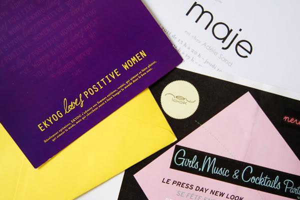 cartons invitations