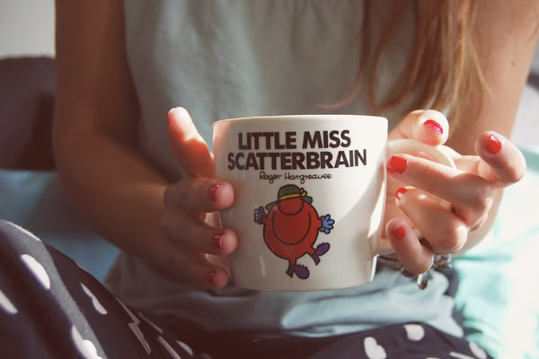 Little Miss Scatterbrain tea cup mug