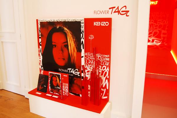 Kenzo parfum expo tag