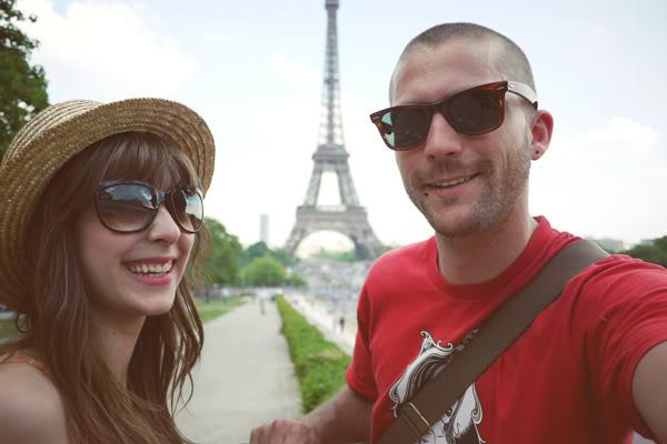 Us vintage dress La Tour Eiffel