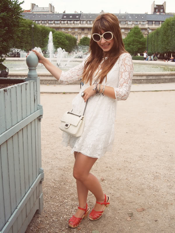 Paris in white