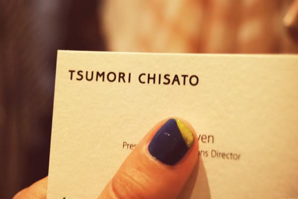 Tsumori Chisato card