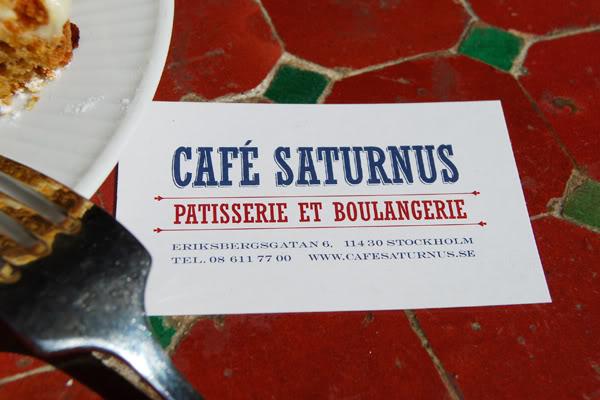 Stockholm Saturnus Café
