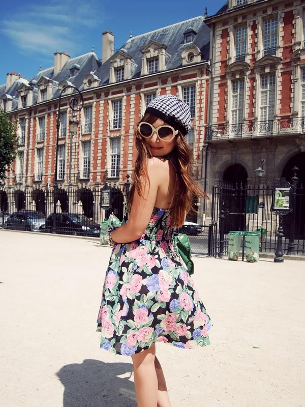 ASOS Petite dress Place des Vosges