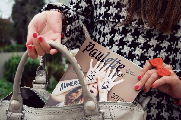 Paulette magazine Balenciaga bag