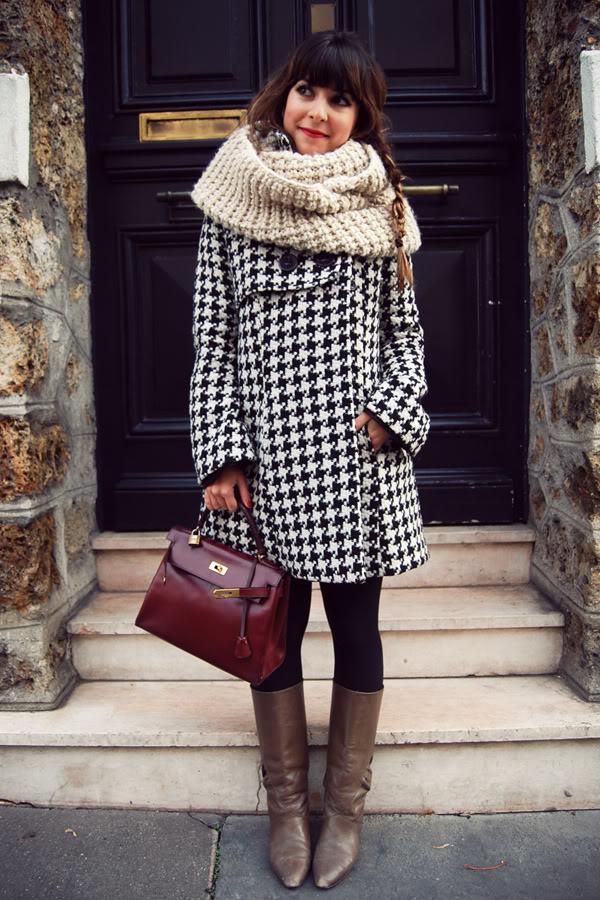 Kelly bordeaux Hermès streetstyle