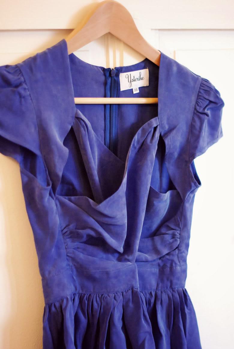 Robe Miu Ysterike bleue