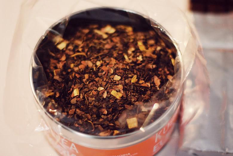 Euphoria Kusmi Tea orange chocolat thé
