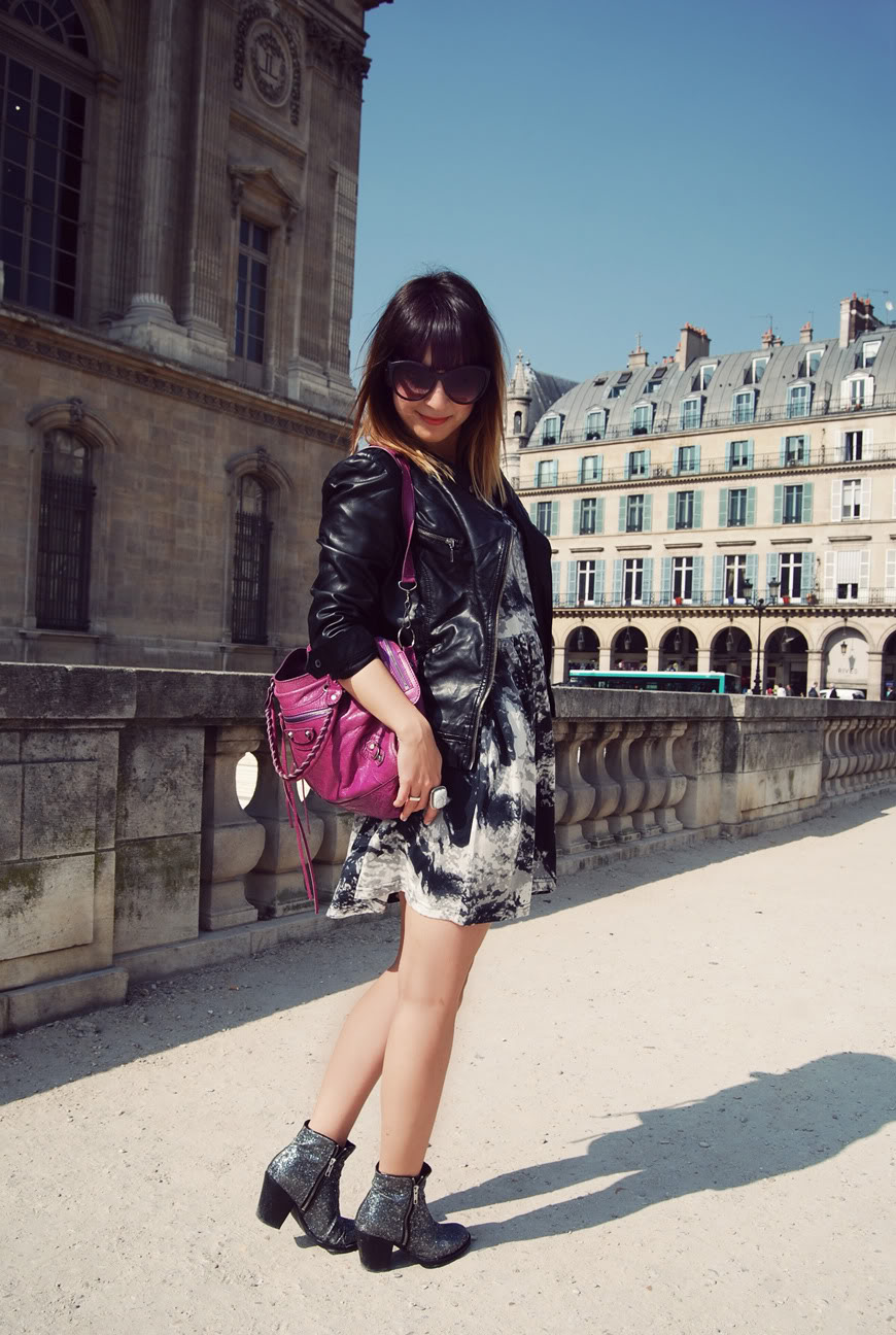 Rebelle shop dress Louvre Paris streetstyle