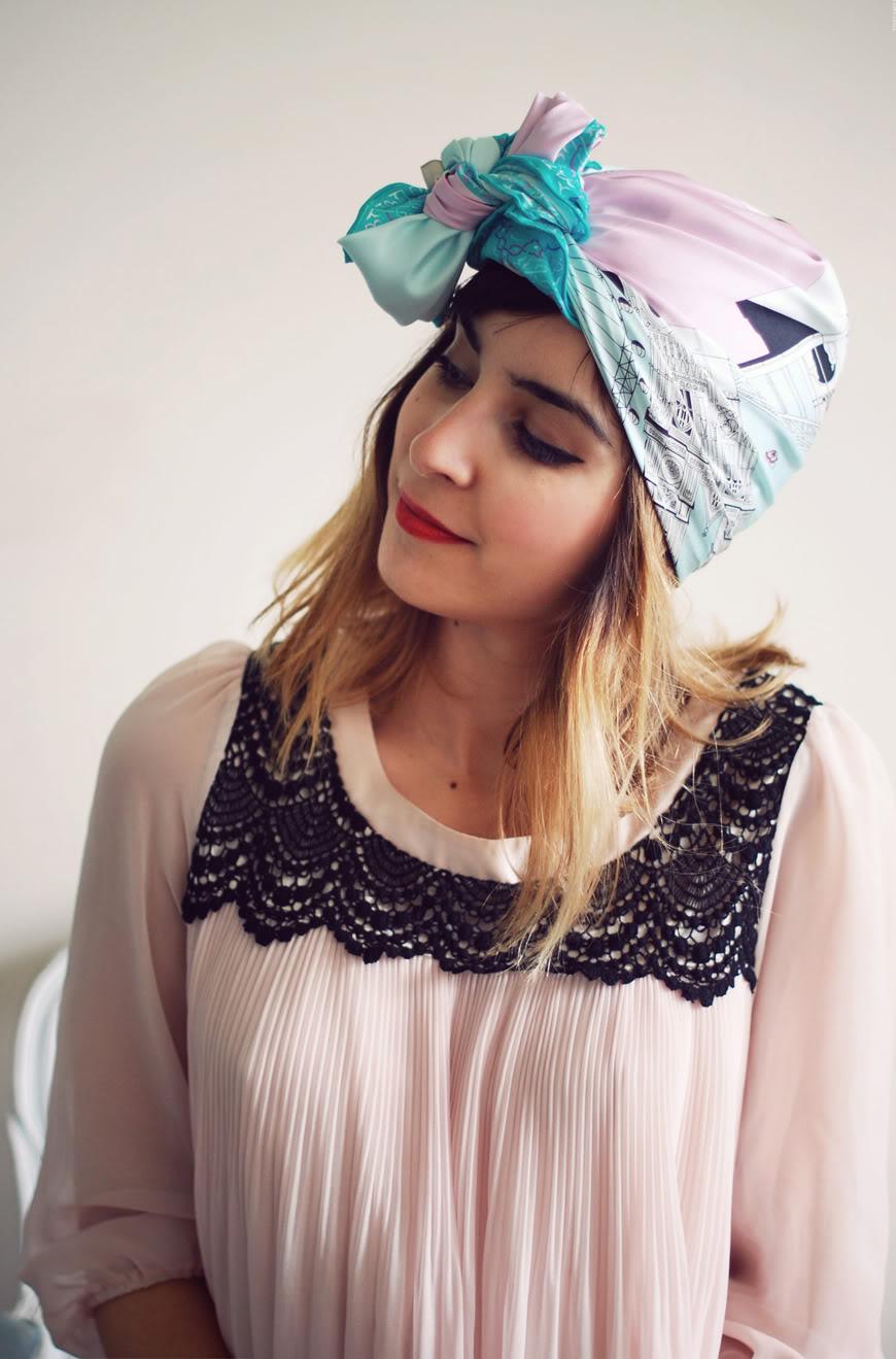 fce520d4d439 1 foulard, 3 possibilités  bis  + Concours   Hello it s Valentine