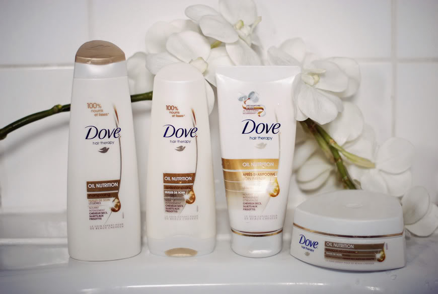 Dove Oil Nutrition gamme hair therapy