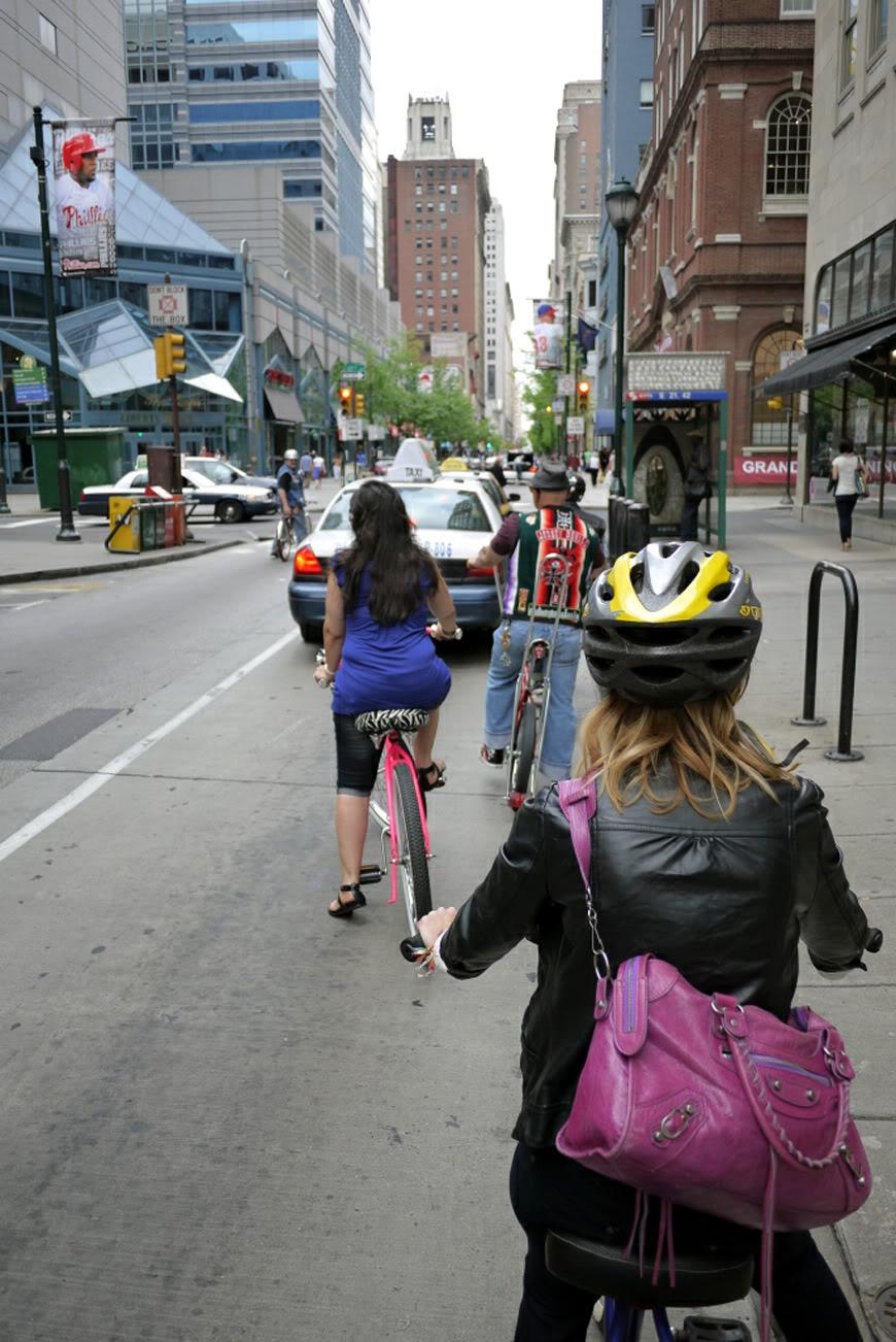 Philadelphie bike cruise Jersey Devils