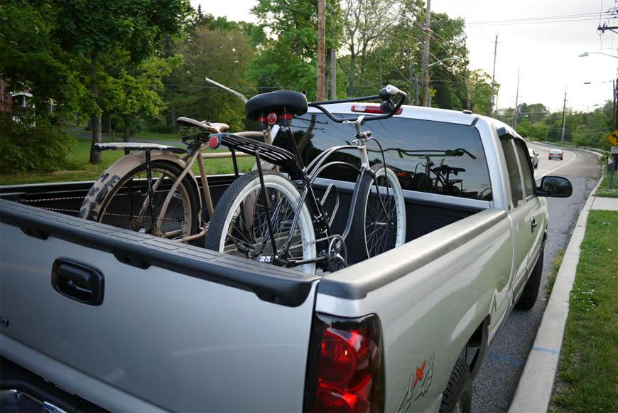 Philadelphie bike cruise Jersey Devils pickup