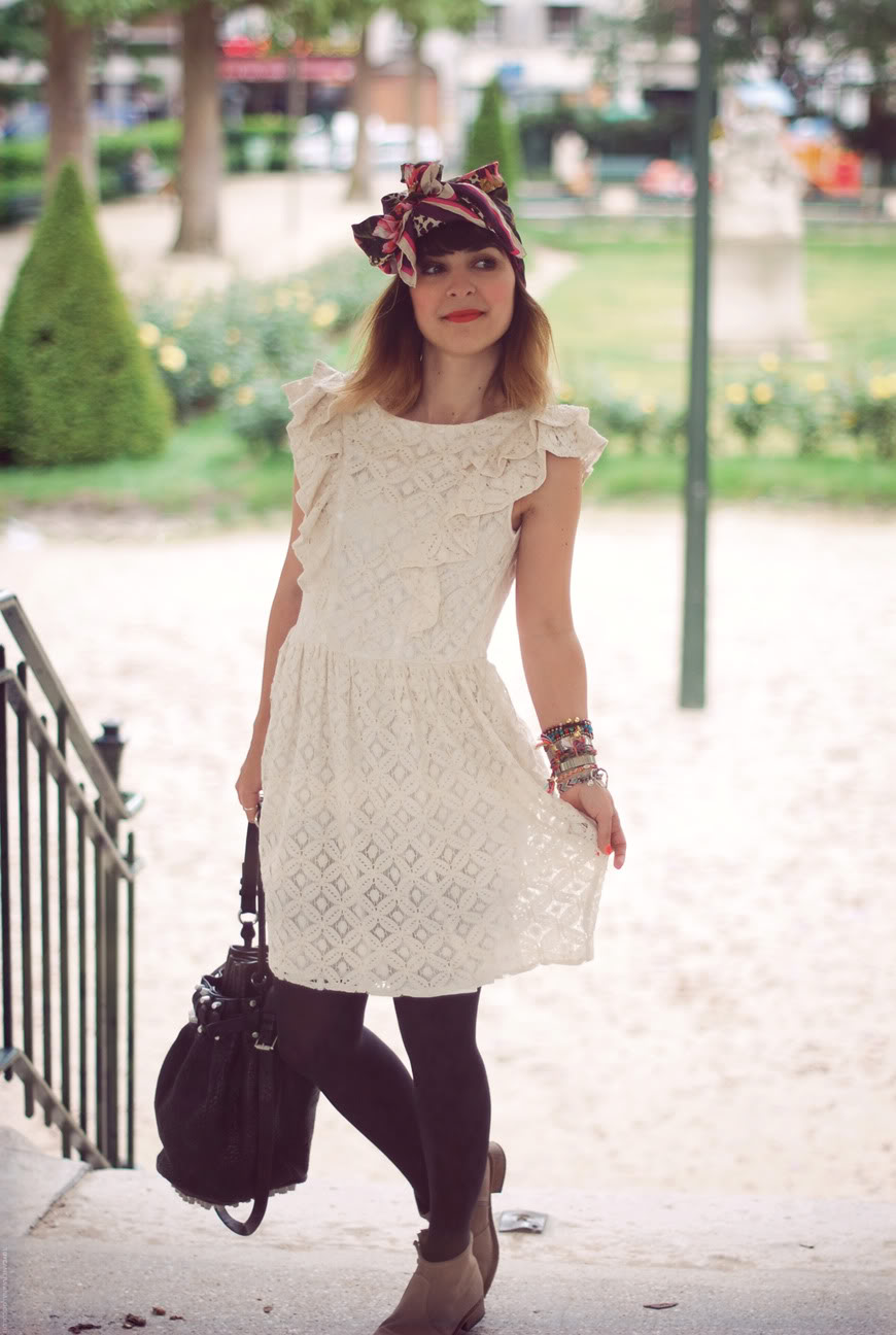 Pepa Loves Paloma dress lace is more streetstyle Valentine