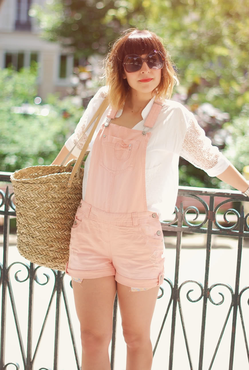Gold On The Ceiling streetstyle Valentine jumpsuit white shirt Paris