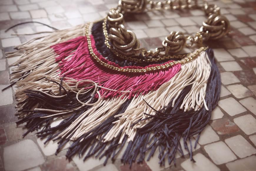 necklace Poupée Rousse unique