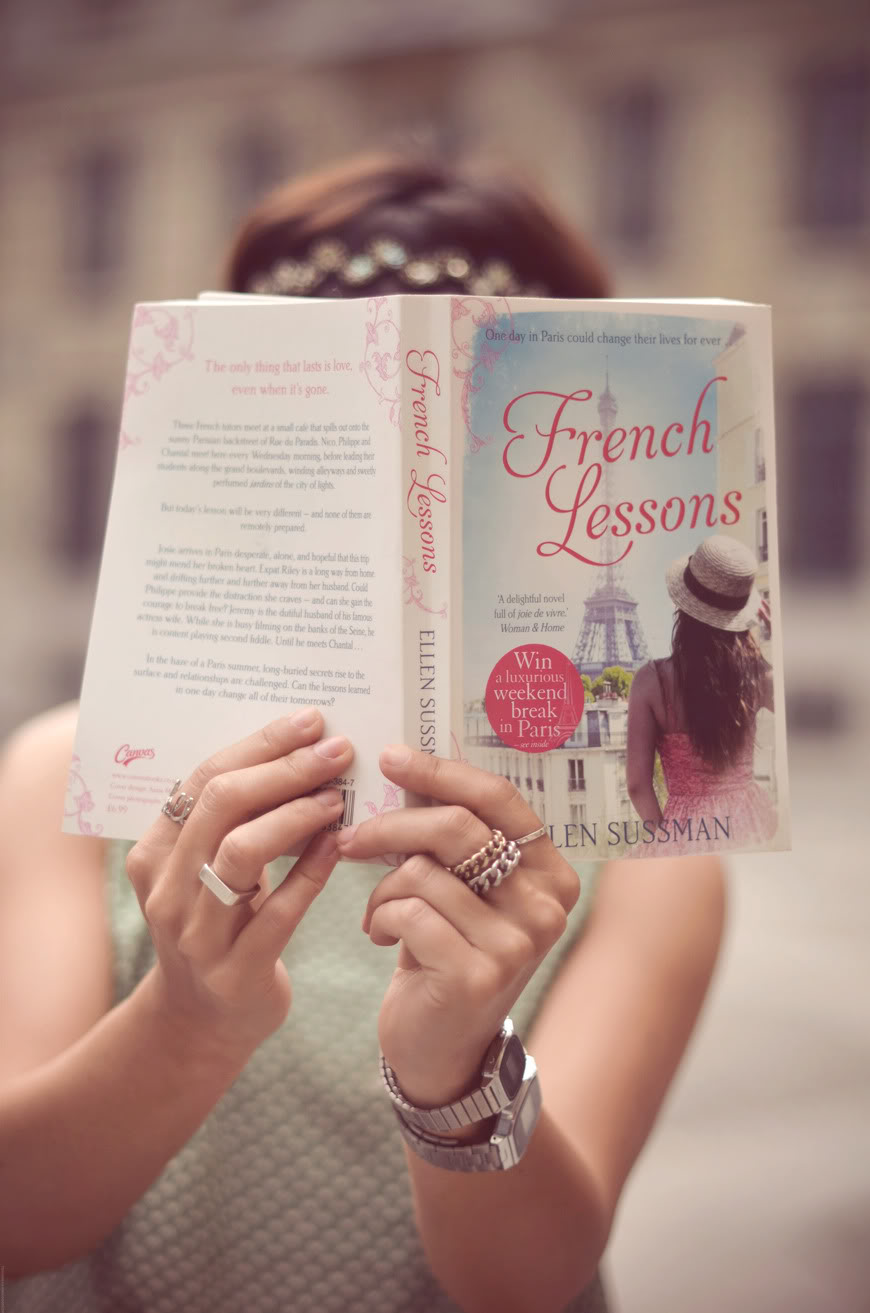 French Lessons cover novel UK Canvas Valentine Vanesse photo Paris