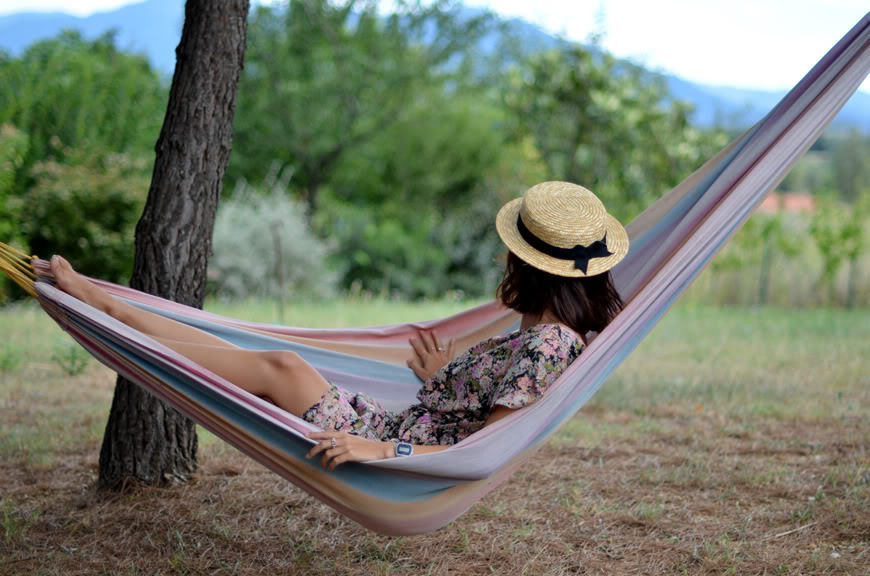 Sweet Liberty South France sun hammock