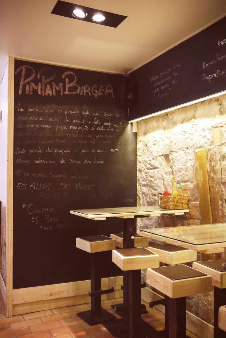PIM PAM Burger Barcelona Valentine