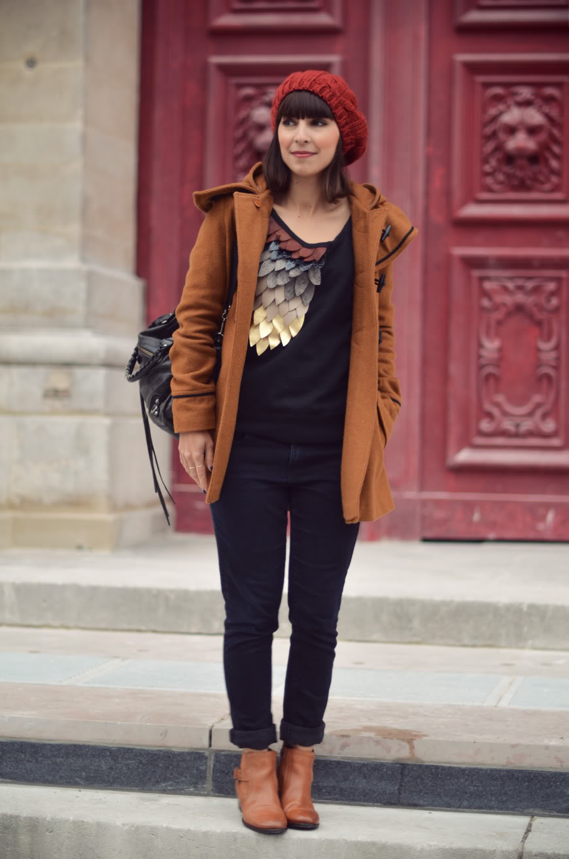 La Flûte Enchantée streetstyle LeBestiaire sweater bonnet