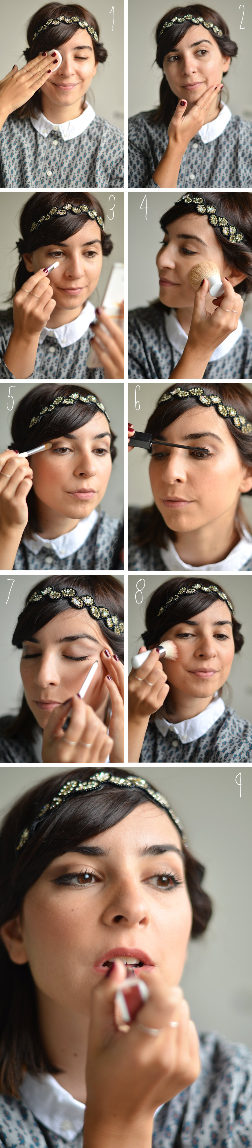 Je suis UNE natural beauty cosmetics makeup maquillage Une shooting