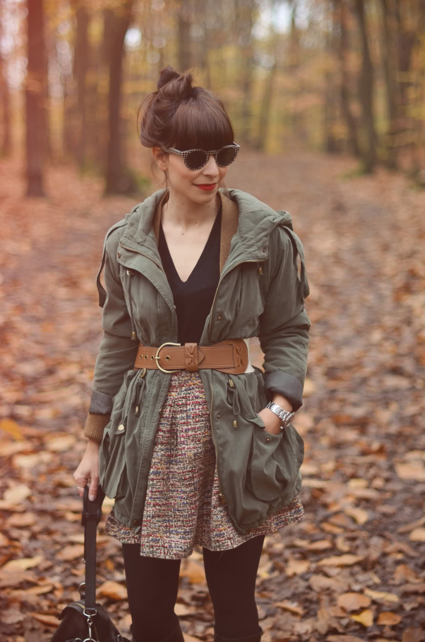 Quizás Quizás Quizás streetstyle woods look outfit Hello it's Valentine blogger