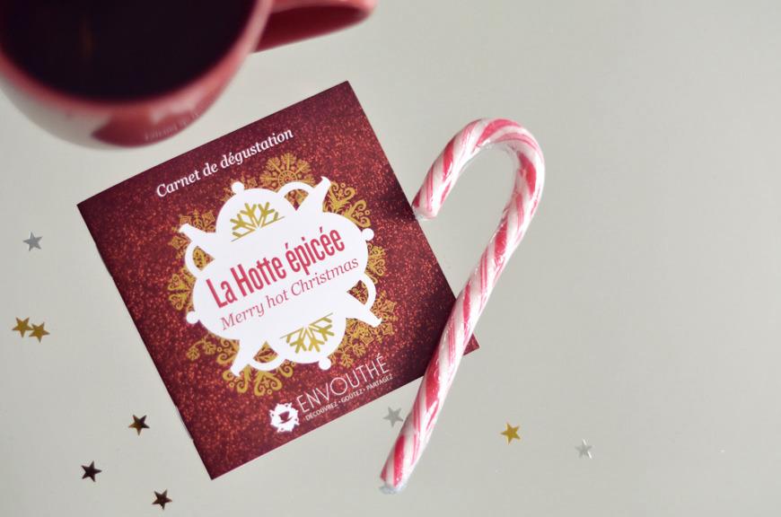 Envouthé Box concours Noël Hotte épicée Merry Hot Christmas