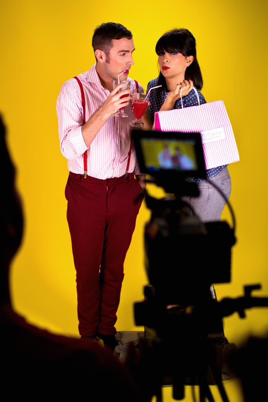 Dessine-moi un soulier Helloitsvalentine shooting video film making studio