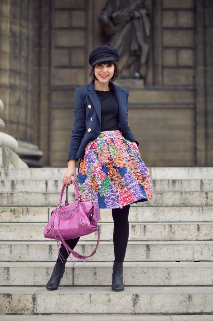 Manoush Helloitsvalentine streetstyle fashion blog blogger Paris la Madeleine monument frenchy