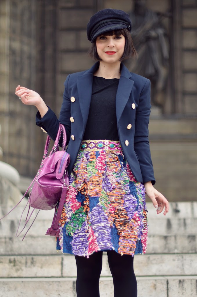 Manoush Helloitsvalentine streetstyle fashion blog blogger Paris la Madeleine monument frenchy