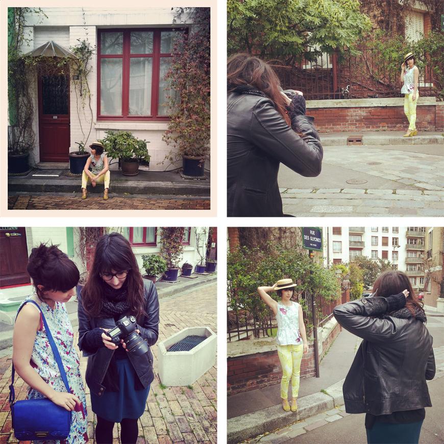 Calla x Comptoir des Cotonniers shooting Pauline Darley fashion blogger french Helloitsvalentine Paris