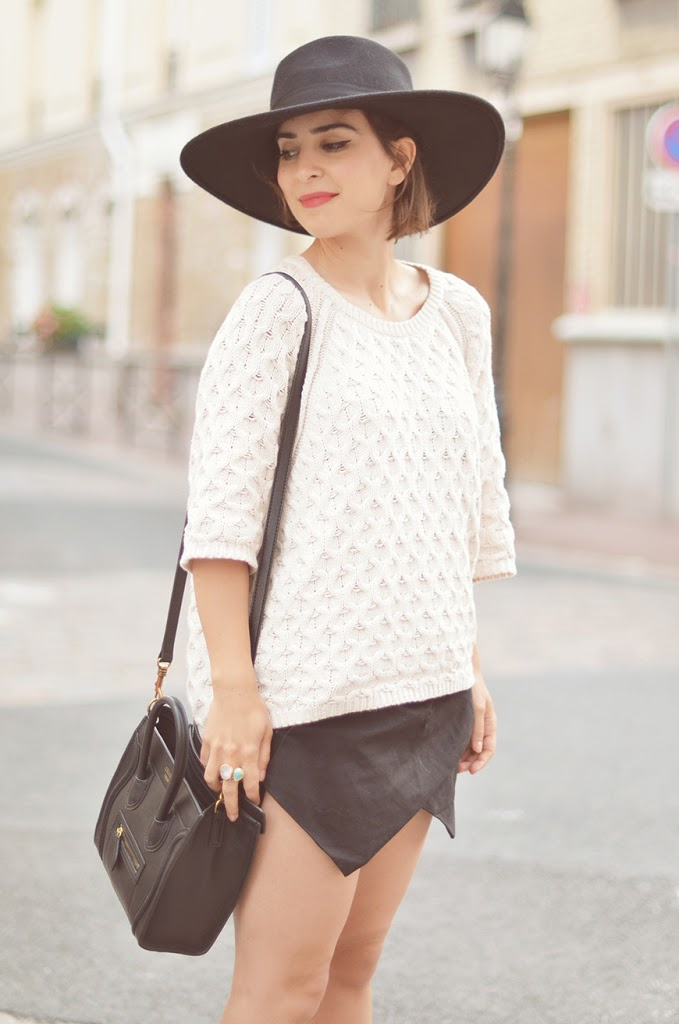 french blogger Hello it's Valentine new icons H&M hat