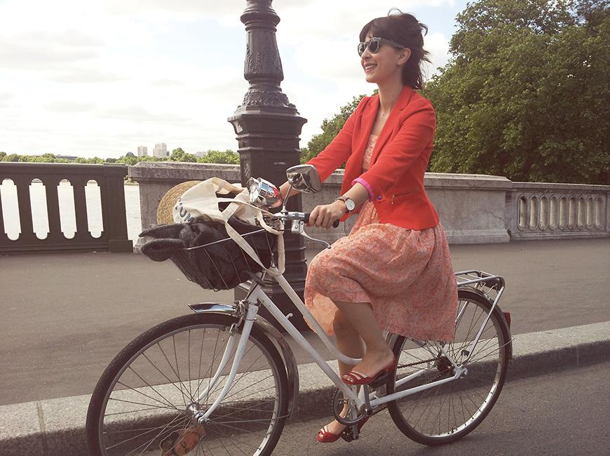 Ride Bérêt-Baguette 2013 Helloitsvalentine french blogger ride bicycle Paris event cruise