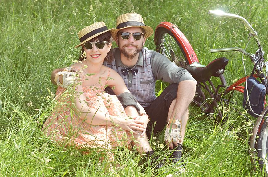 Ride Bérêt-Baguette 2013 Helloitsvalentine french blogger ride bicycle Paris event cruise picnic pique-nique grass