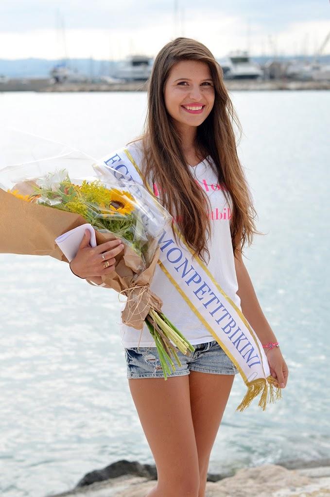 BE A MODEL by Monpetitbikini gagnante Alissia Cocody Beach Saint-Laurent du Var défilé maillots de bain mannequins Hello it's Valentine