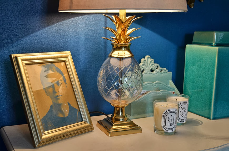 Ananas lampe pineapple lamp Zara Home interior decoration livingroom salon Hello it's Valentine franch blogger