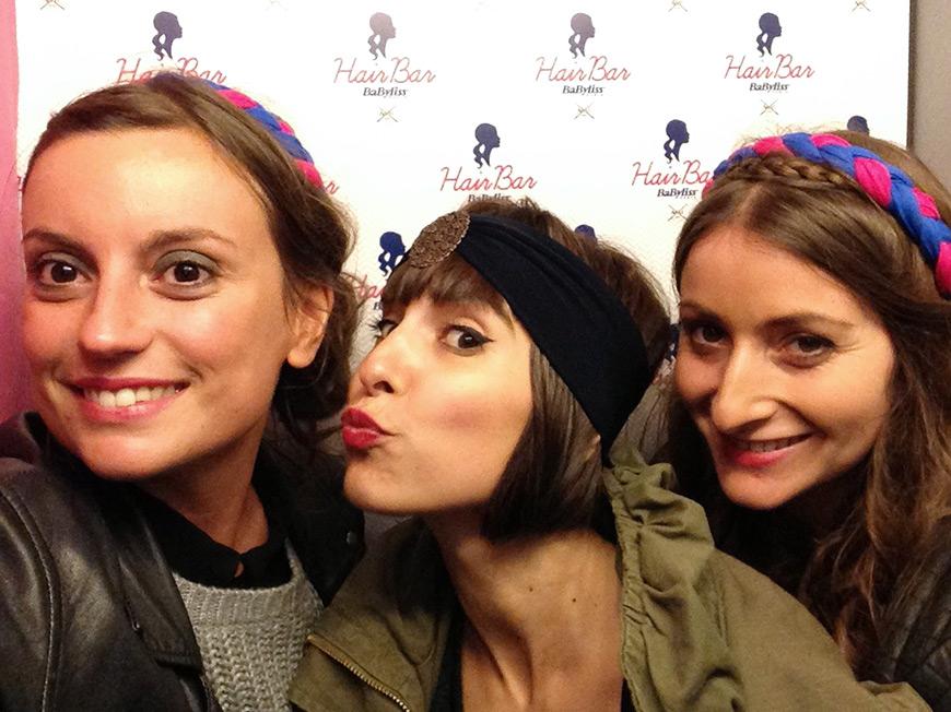 Hair Bar itinérant de BaByliss Paris et Adéli Paris Hello it's Valentine