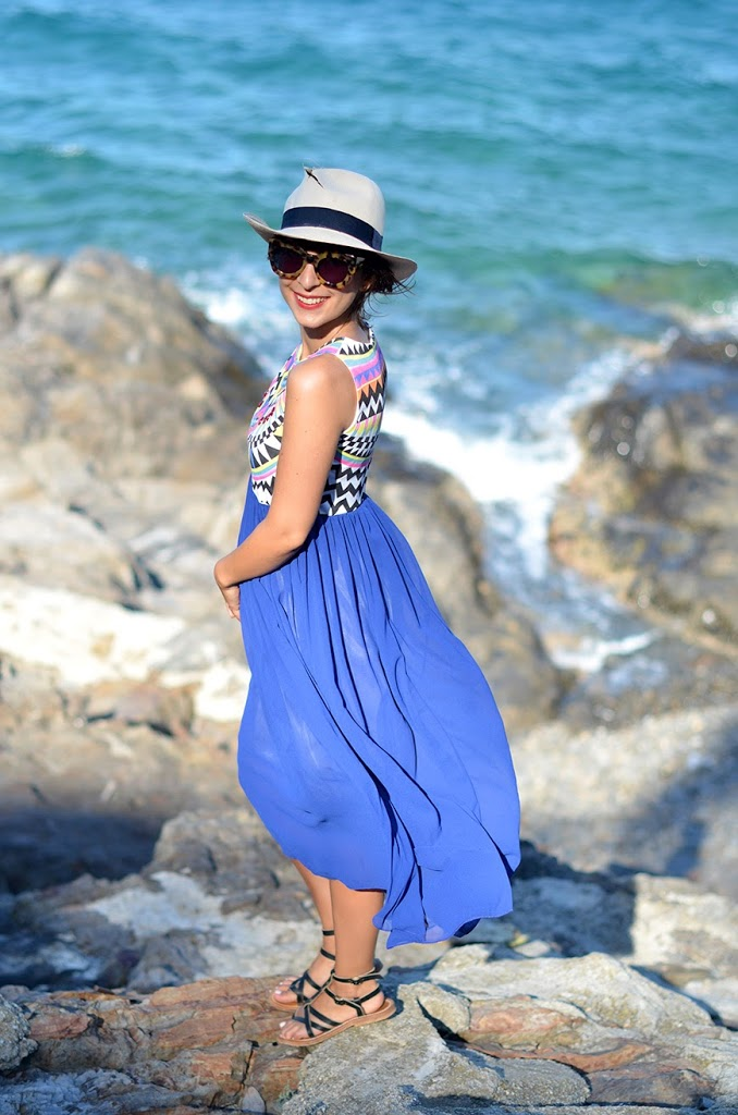 Collioure vacances summer holidays Hello it's Valentine SheInside dress colors