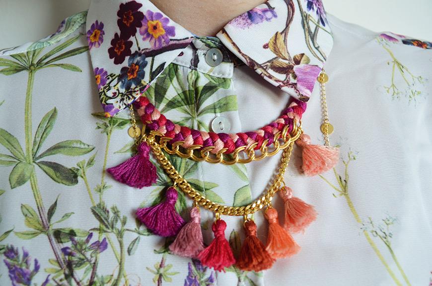 Coahoma collier crée par Hello it's Valentine x Poupée Rousse pour Puloma Paris