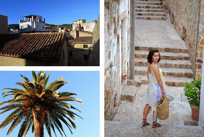 Tossa de Mar Hello it's Valentine Billabong paysage Vila Vella holidays summer vacances Catalogne