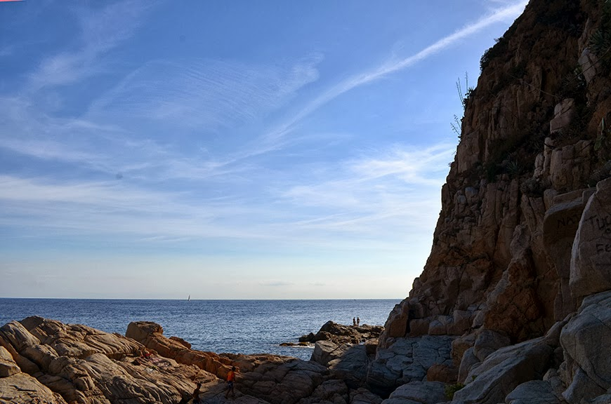 Tossa de Mar Hello it's Valentine Billabong paysage Vila Vella holidays summer vacances Catalogne