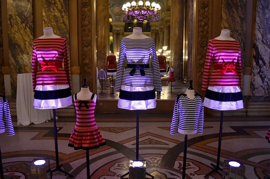 petit bateau x christian lacroix collab Opéra Garnier présentation presse marinières noeuds Hello it's Valentine