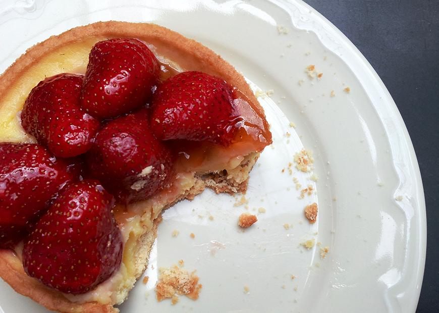 strawberry tart tartelette fraises yummy food Hello it's Valentine Helloitsvalentine