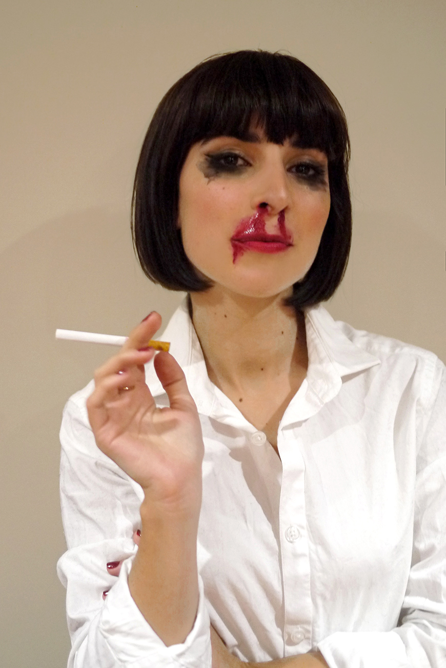 Halloween costumes déguisements Mia Wallace Pulp Fiction fun Hello it's Valentine Helloitsvalentine