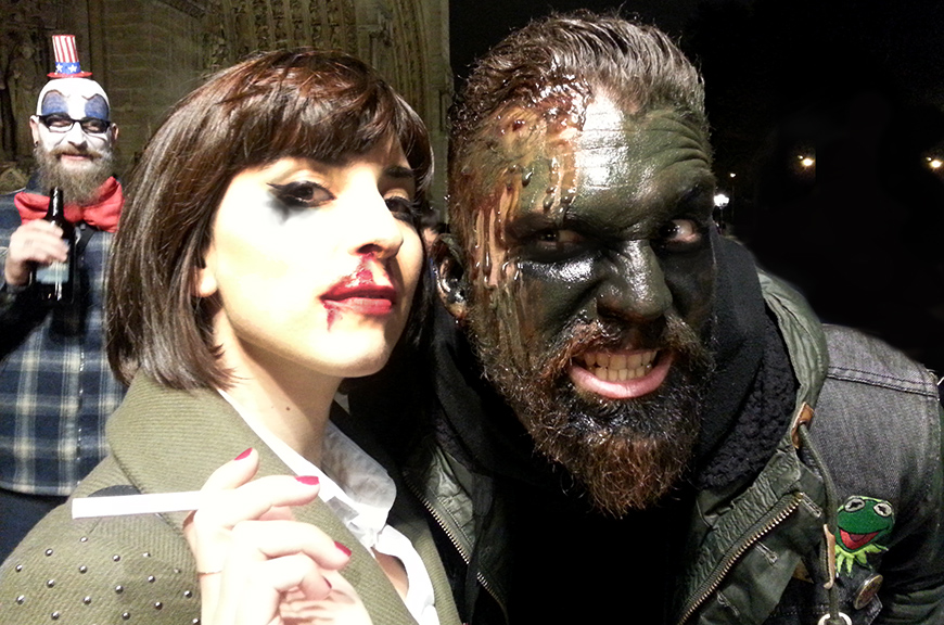 Halloween costumes déguisements Mia Wallace Pulp Fiction zombie fun Hello it's Valentine Helloitsvalentine
