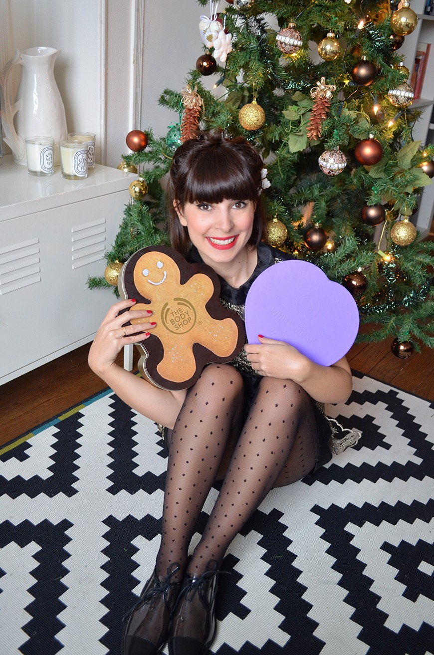 Xmas is coming Concours The Body Shop Helloitsvalentine blogger