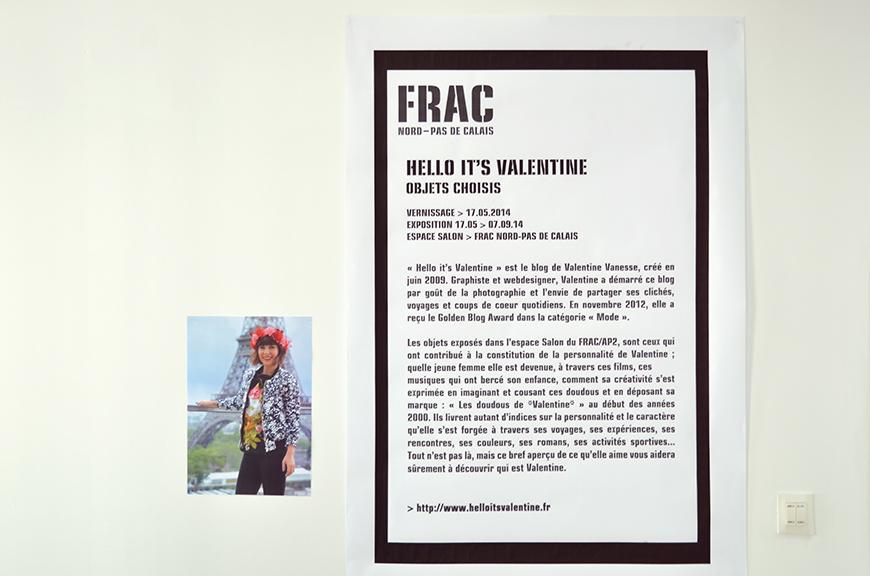 FRAC Dunkerque Nord Pas de Calais exposition Helloitsvalentine blogueuse objets choisis