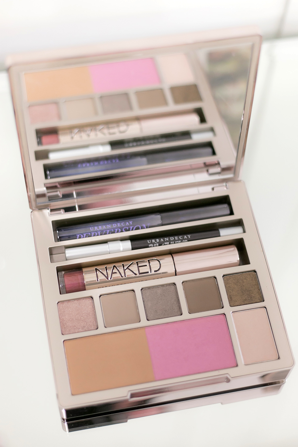 Tuto palette NAKED on the Run Urban Decay Helloitsvalentine