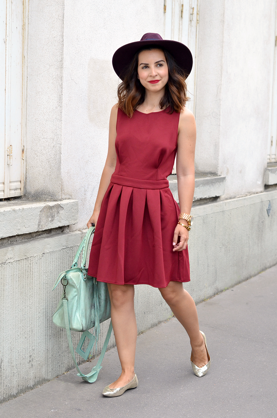 Helloitsvalentine_Burgundy_dress_8